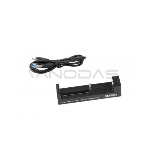 Įkroviklis baterijos 18650 14500 26650 XTAR MC1