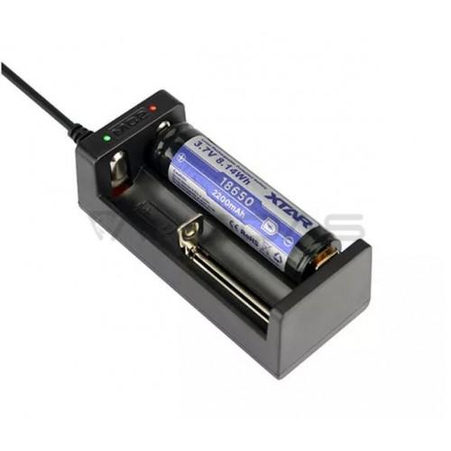 Įkroviklis baterijų 18650 14500 26650 XTAR MC2