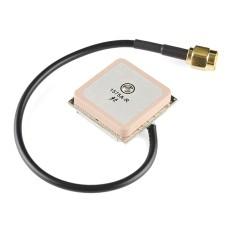 Įterptinė GPS antena SMA 26dB 3.3V +/- 0.5V