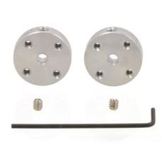 Pololu Universal Aluminum Mounting Hub for 3mm Shaft M3 Holes