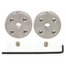 Pololu Universal Aluminum Mounting Hub for 4mm Shaft M3 Holes