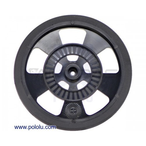 Pololu wheel Servo SW-B 69x7.62mm black 1 pc.