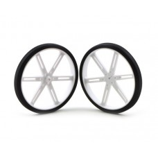 Pololu wheels 90x10 mm white 2 pcs.