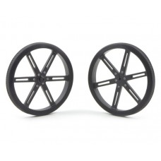 Pololu wheels 90x10 black 2 pcs