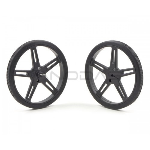Pololu wheels 70x8mm black 2 pcs.