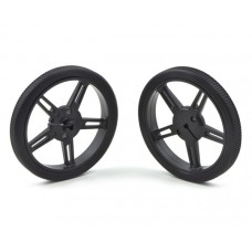 Pololu wheels 60x8mm black 2 pcs.