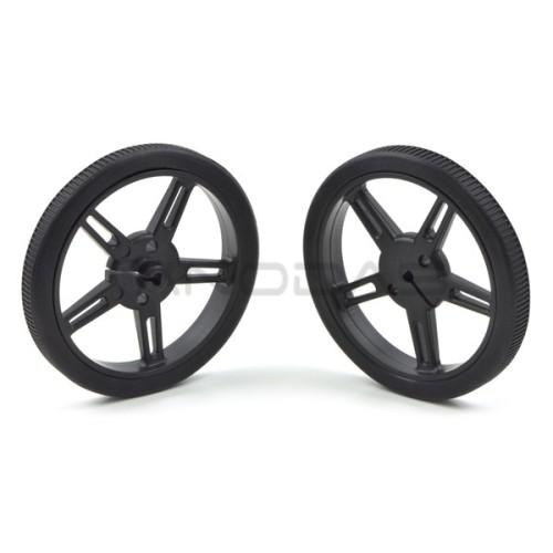 Pololu wheels 60x8mm black 2 pcs.