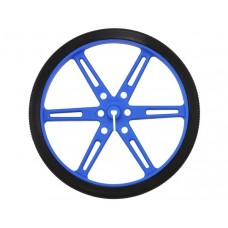 Pololu wheels 80x10mm blue 2 pcs.
