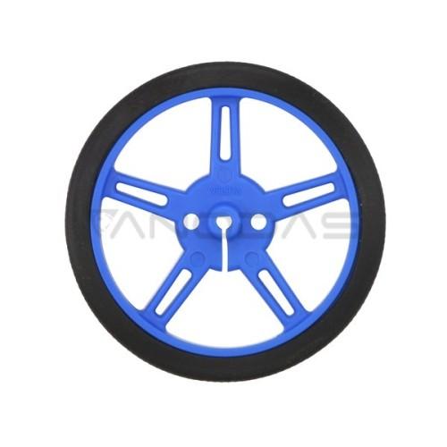Pololu ratai 60x8mm mėlyni - 2 vienetai