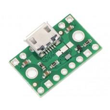 Polulu FPF1320 galios multiplekseris su USB Micro-B jungtimi 1.5 V – 5.5 V