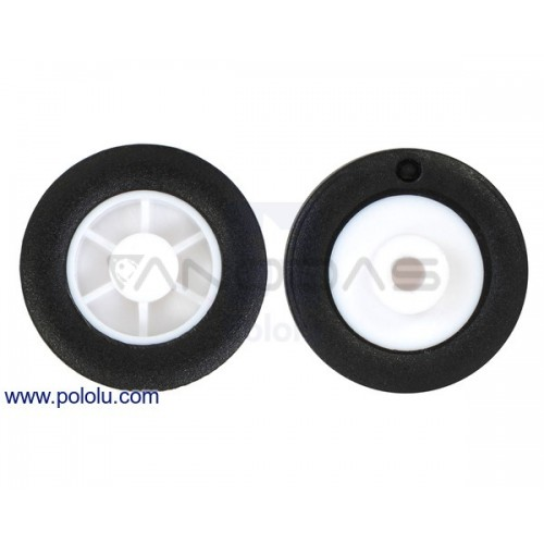 Pololu wheels 14×4.5mm 2 pcs.