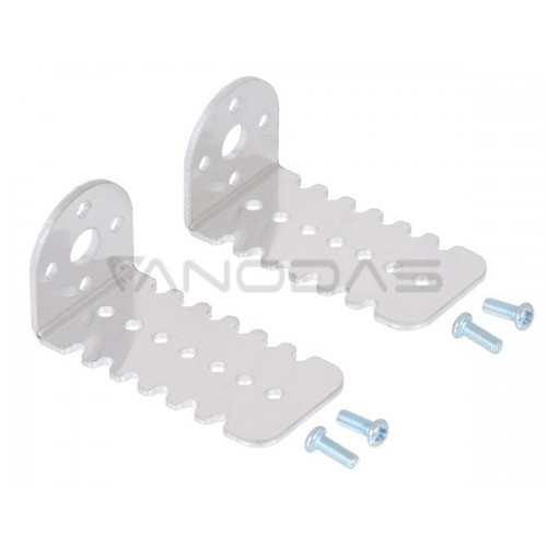 Pololu 25D mm Metal Gearmotor Bracket Pair