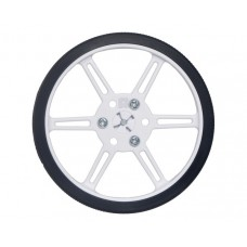 Pololu wheels 80x10mm white - 2 pcs.