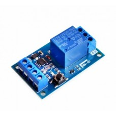 12V Bond Bistable Relay Module Car Modification Switch One Key Start and Stop the Self-Locking