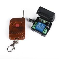 1 kanalo relė modulis su nuotoliniu pulteliu 12V 433Mhz