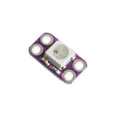 1 šviesos diodo WS2812 5050 RGB LED modulis