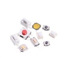 10 skirtingų rūšių Tactile mygtukų rinkinys (250vnt.)