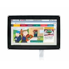 Waveshare Talpinis lietimui jautrus ekranas Raspberry Pi mikrokompiuteriui - LCD TFT 10.1