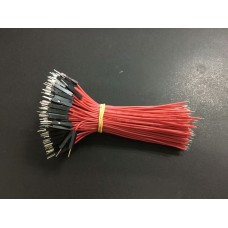 10cm Dupont Wire Male single head red 1pcs