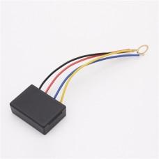 Indukcinis LED juostų jungiklis/dimmeris 12VDC 60W - juodas