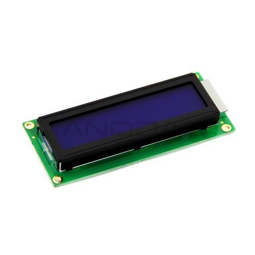 16x2 LCD ekranas (mėlynas)