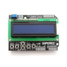 16x2 LCD screen with keyboard