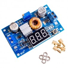 DC/DC power converter from 4-38V to 1.25-36V 75W (STEP DOWN) + voltmeter