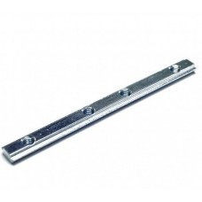 Straight connector for aluminum profiles 2020 10cm V-SLOT