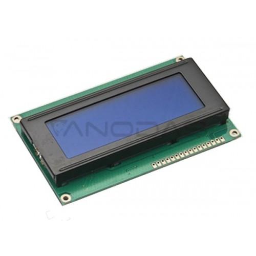 20x4 LCD ekranas (mėlynas)