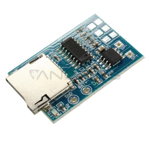 3.7V-5V microSD MP3 Keitiklio Modulis