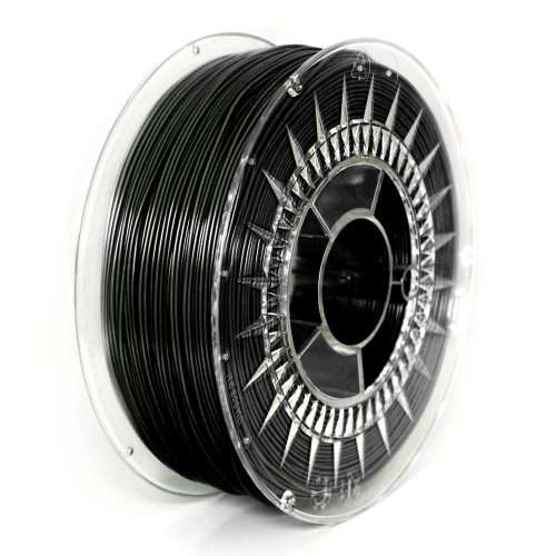3D filament Devil Design PLA 1.75mm 1kg - Black