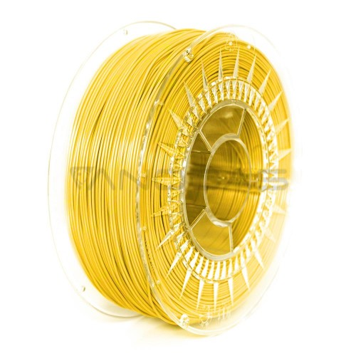 3D filament Devil Design PLA 1.75mm 1kg - Bright Yellow