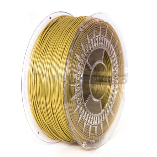 3D plastikas Devil Design PLA 1.75mm 1kg – Gold