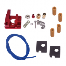 3D printer accessories CR-10 / ender-3 upgraded extruder + Spring + mk8 silicone sleeve + PTFE tube