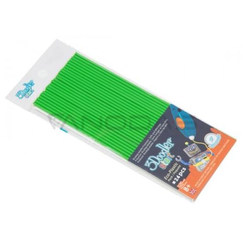 3Doodler Start žalias plastikas - 24 vnt.