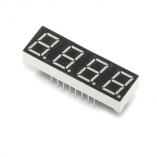 4 digit 7 segment LCD module red