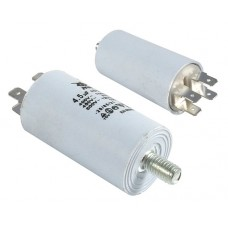 Variklio paleidimo kondensatorius  4.5uF/450VAC  30x57mm
