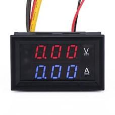 Volt/ampermetras DC 0-100V 10A