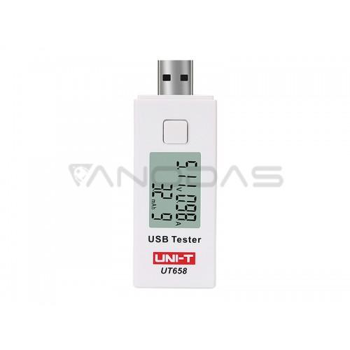 UT658 UNI-T USB lizdo testeris