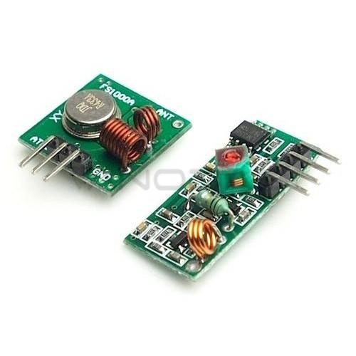 433MHz RF ryšio modulių rinkinys