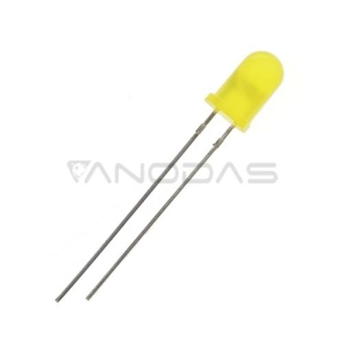 5mm Geltonas šviesos diodas