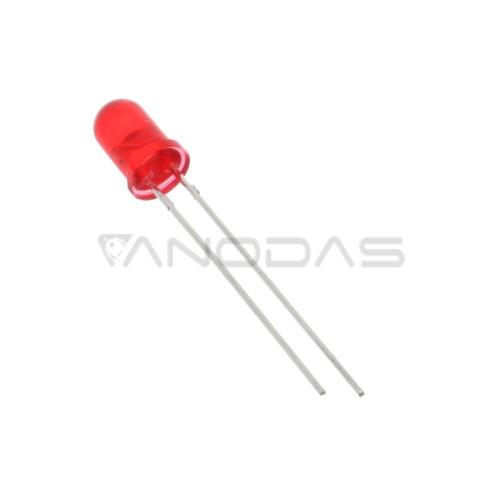 5mm Raudonas šviesos diodas