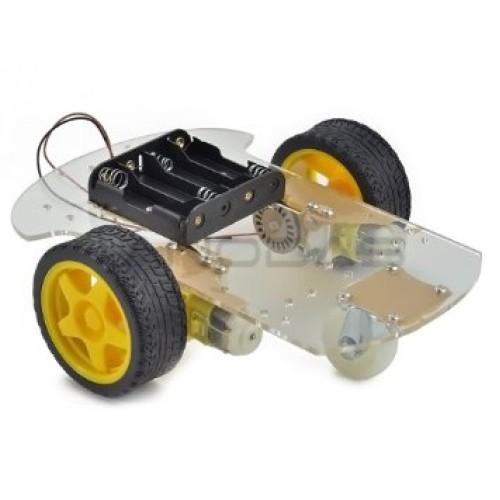 2 Ratų roboto važiuoklė