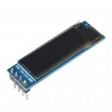 "OLED display 0.91"" 128x32px 4pin - white"