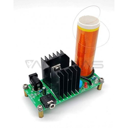 Elektronikos rinkinys - Mini Tesla Coil Plasma Speaker Kit