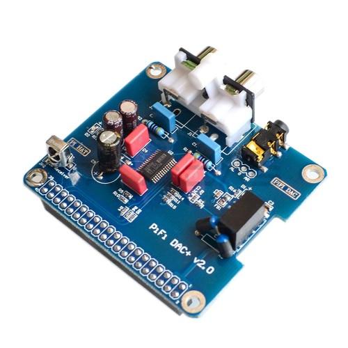 PiFi DAC+ V2.0 - Raspberry Pi Garso Plokštė