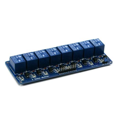 8 kanalų relė modulis