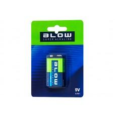 Baterija 9V BLOW SUPER ALKALINE 9V 6LR61
