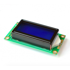 0802 LCD display Blue color