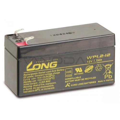 Švino akumuliatorius 12V 1.2Ah WP1.2-12 LONG